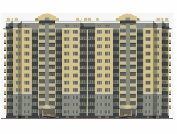 Купить дипломный Проект № этажный монолитный жилой дом в г  Проект №2 22 12 этажный монолитный жилой дом в г Калининград