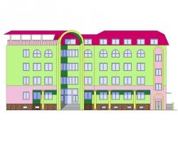 Купить дипломный Проект № Реконструкция и надстройка  Проект №1 86 Реконструкция и надстройка 4 этажного здания Центр Банк