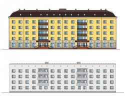 Купить дипломный Проект № Реконструкции здания общежития в г  Проект №1 89 Реконструкции здания общежития в г Астрахань