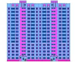 Купить дипломный Проект № ти этажный х секционный жилой  Проект №2 58 16 ти этажный 2 х секционный жилой дом