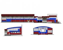 Купить дипломный Проект № Реконструкция спортивного  Проект №1 141 Реконструкция спортивного комплекса Олимп с пристройкой г