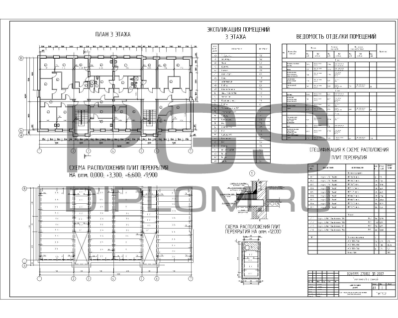6.План 3 этажа, схема  ...